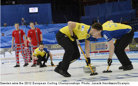Sweden beat Norway to curling gold
