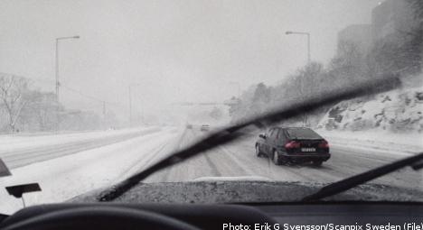 SMHI warns of slippery roads as mercury rises