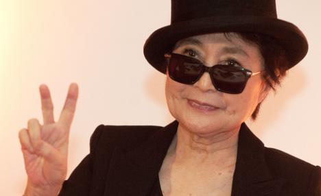 Yoko Ono receives German peace prize