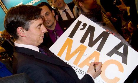 McAllister: 'I'm happy to be Merkel's Mac'