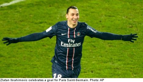 Zlatan shines as PSG down Bordeaux