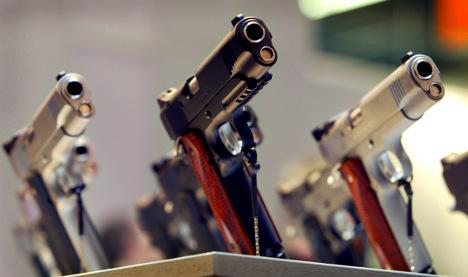 Tiny Saarland has the most guns per capita