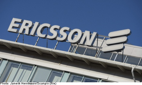 Ericsson losses less dire than expected