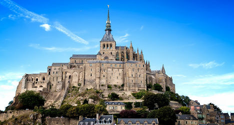 France's iconic Mont-St-Michel hit by mayor row