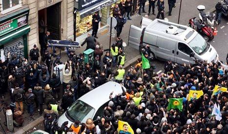 Three Kurdish women shot in the head in Paris