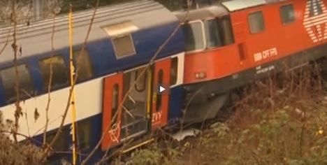 Seventeen injured in Schaffhausen train crash