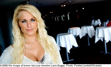 Laila Bagge's homeless mobile phone flap