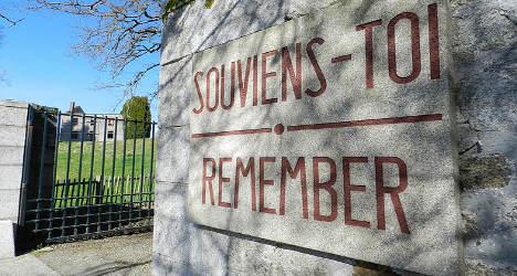 Investigators visit French site of Nazi massacre