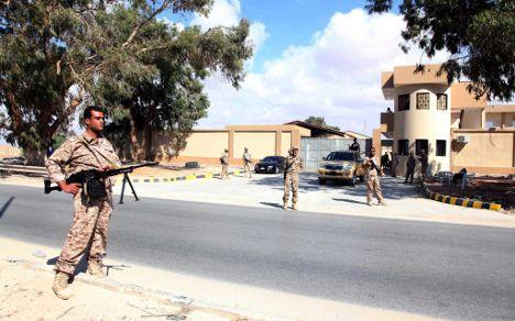 Germans urgently warned to leave Benghazi