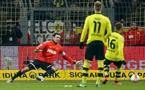 Dortmund storm into second in Bundesliga