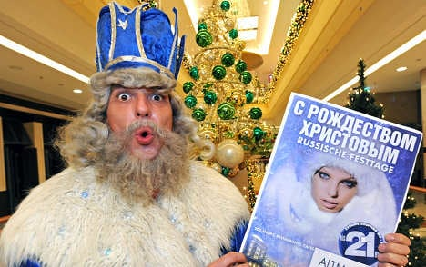 Russian shoppers drop in on Dresden for Christmas