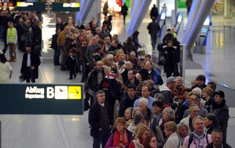Airport strikes shut down Cologne and Düsseldorf