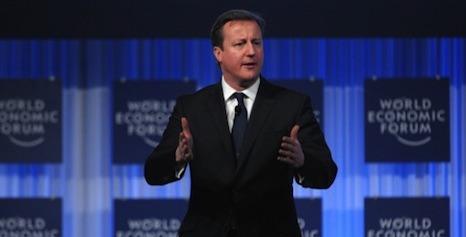 Cameron's EU plans 'hijack' Davos forum