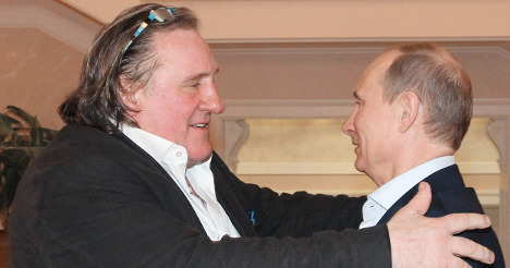 Depardieu 'to build' country cabin in Russia
