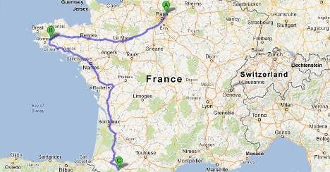 GPS leads Lourdes pilgrims astray