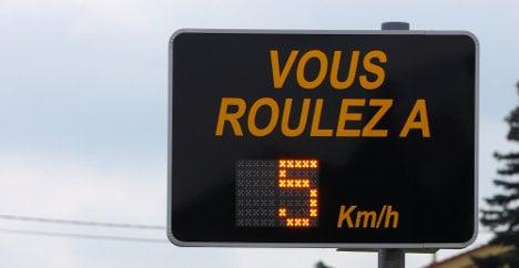 Driver 'caught speeding 94 times' walks free