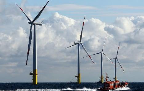 Japanese-Dutch partners tie windparks to Germany