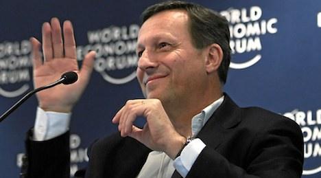 Novartis chairman to step down as profits rise