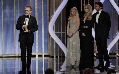 Christoph Waltz triumphs at Golden Globes