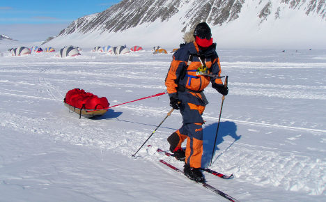 First German to trek to South Pole returns