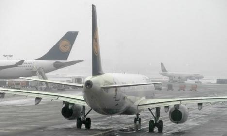 Wintry weather hits dozens of flights
