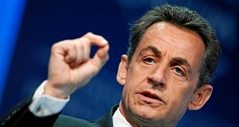 Sarkozy slips into Geneva for charity gala