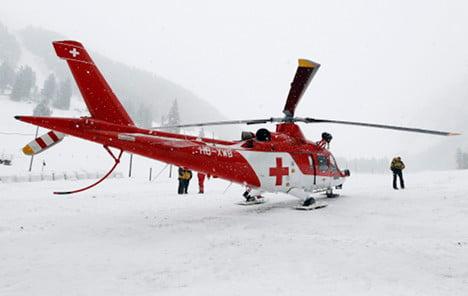 German skier dies in Swiss Alps avalanche