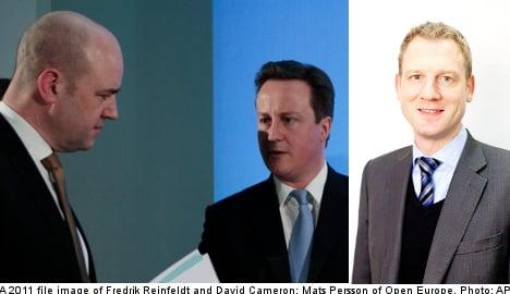 'Sweden should support Cameron's EU vision'