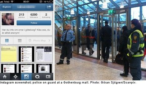 Gothenburg sets up 'Instagram riot' team