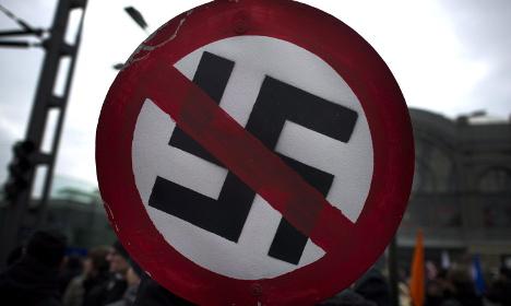 Jail term for neo-Nazi protestor sparks outcry