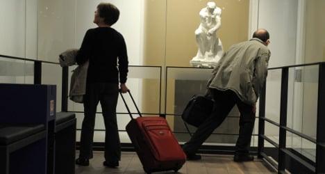 Paris airport opens art museum for the jet set