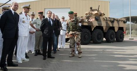France warns embassy staff to be 'vigilant'