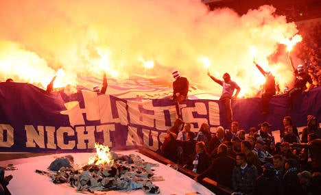 Football fans heat up stadium security debate