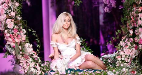 Zahia Dehar: From call girl to fashion princess