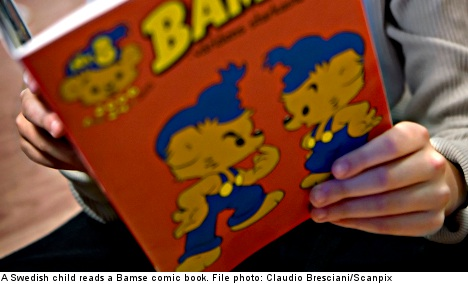 Forty years in comics for 'leftie bear' Bamse