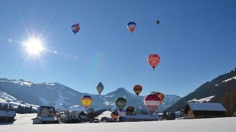 Star British pilot set for Swiss balloonfest