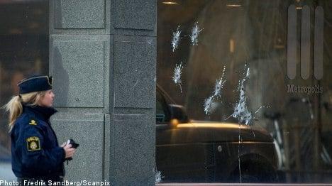 Stockholm cop fined over 'cowboy' shootout