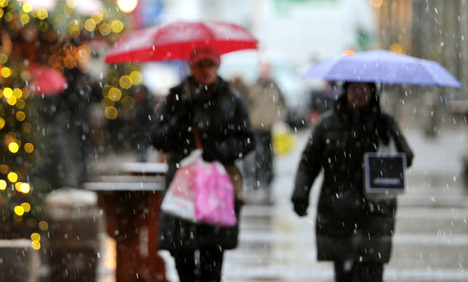 Winter's weekend return to banish balmy temps