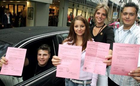 Nearly a third of Germans fail their driving test