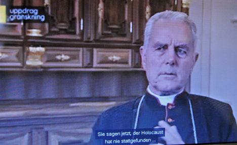 Court fines British bishop for Holocaust denial