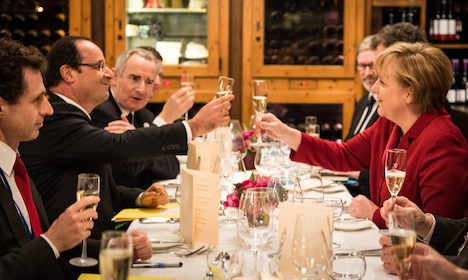 Franco-German ties feted amid euro crisis