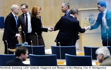 Swedish voters flock to fringe parties: report