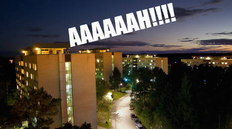 Swedish students' howls echo across the world