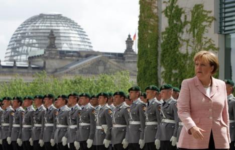 Elite soldiers 'growing left breasts'