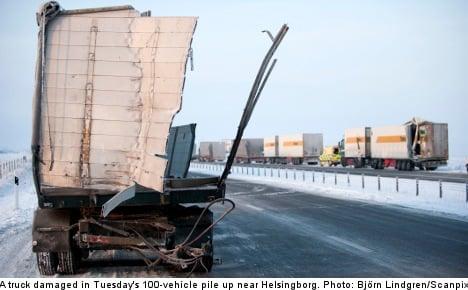 Warning for 'black ice' on Swedish roads