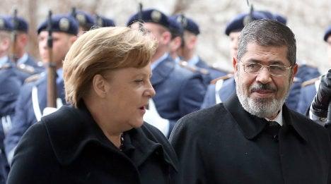 Merkel: Egypt must talk with opposition