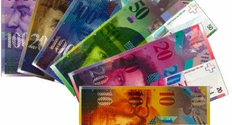 Swiss exports benefit from franc's dip