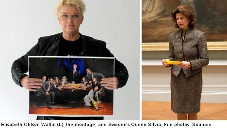 Queen appeals swastika montage publication