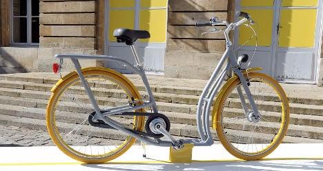 French designer unveils new 'scooter-bike'