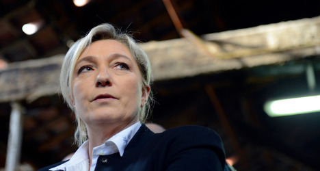 France's Le Pen lambasts 'European Soviet Union'